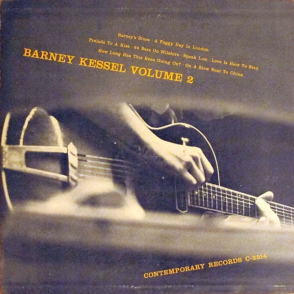 Barney Kessel Kessel Plays Standards cover art