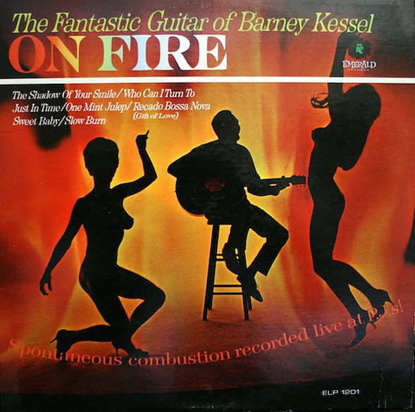 Barney Kessel On Fire Cover Art