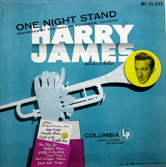Harry James and His Orchestra One Night Stand Cover Art
