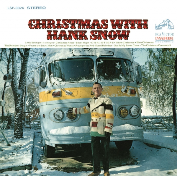 Hank Snow Christmas With Hank Snow Cover Art