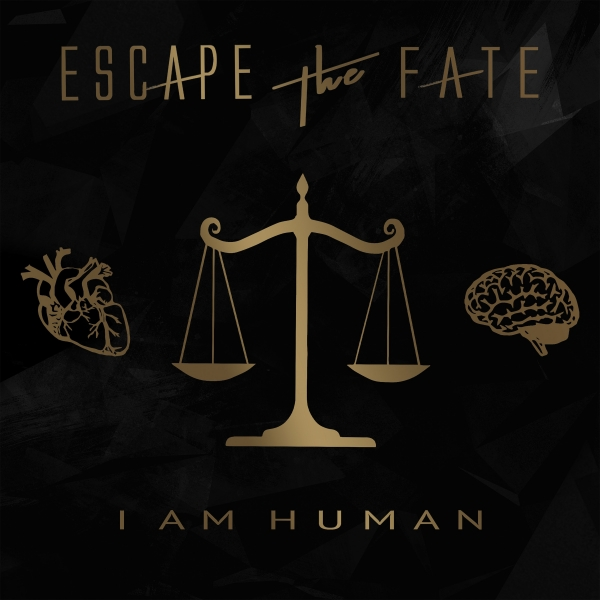 Escape the Fate I Am Human cover art