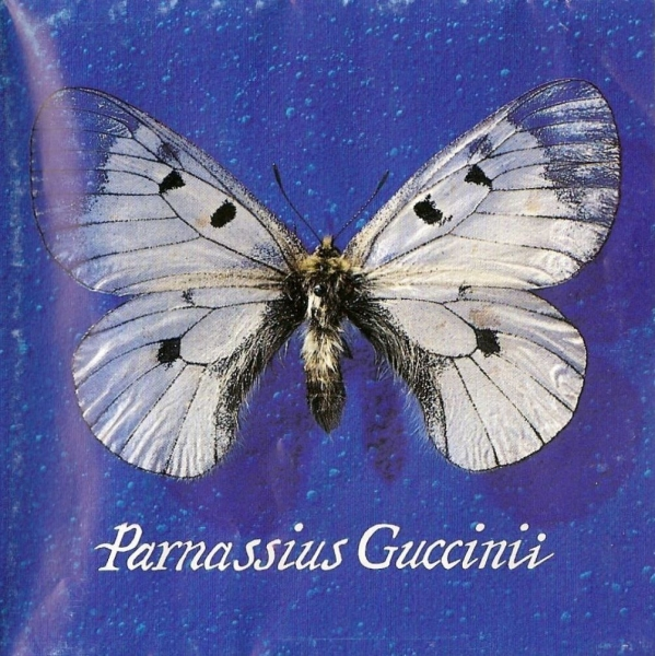Francesco Guccini Parnassius Guccinii Cover Art