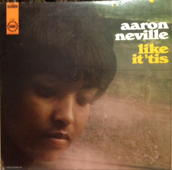 Aaron Neville Like It 'Tis cover art