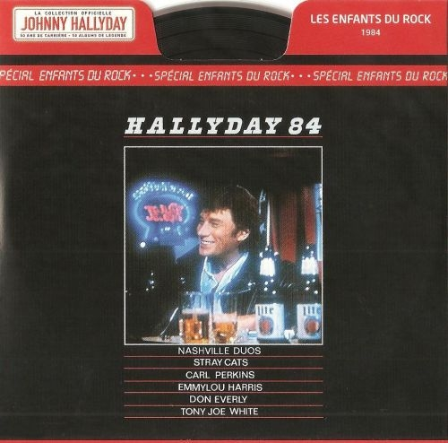 Johnny Hallyday Hallyday 84 (Spécial Enfants du rock) cover art