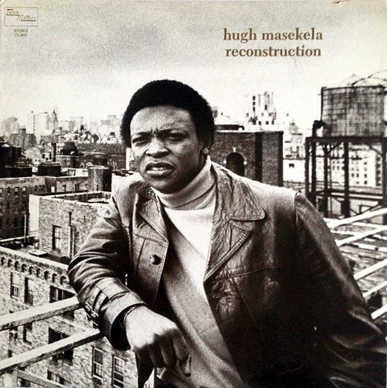 Hugh Masekela Reconstruction Cover Art