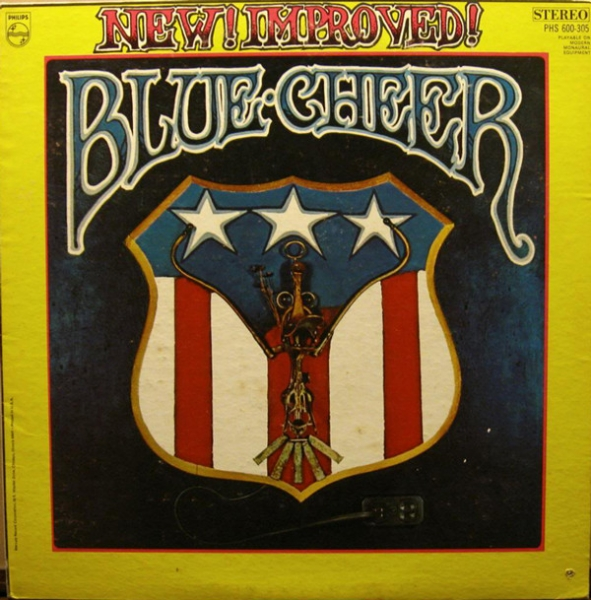 Blue Cheer New! Improved! Blue Cheer cover art