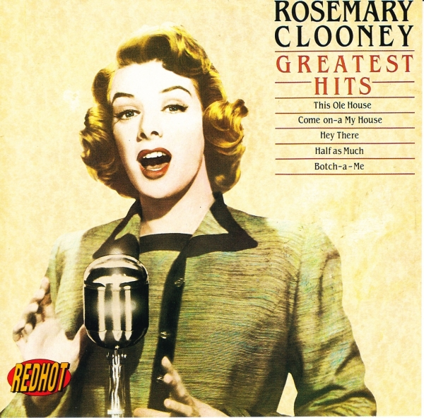 Rosemary Clooney Greatest Hits Cover Art