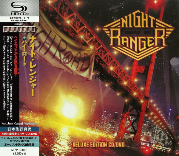 Night Ranger High Road cover art