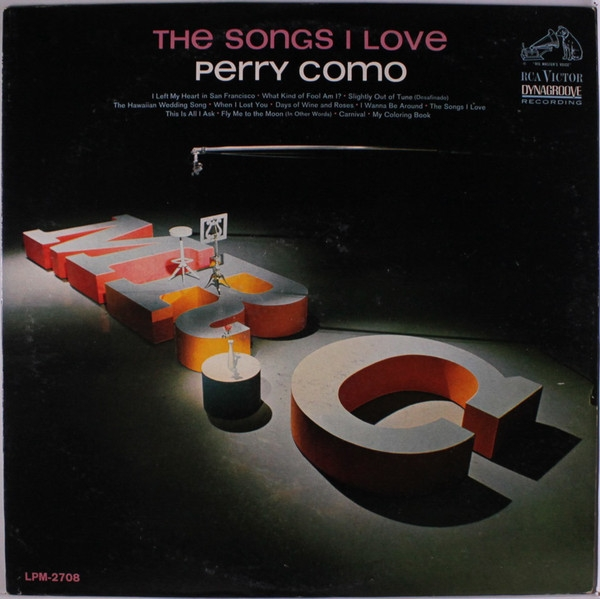 Perry Como The Songs I Love cover art