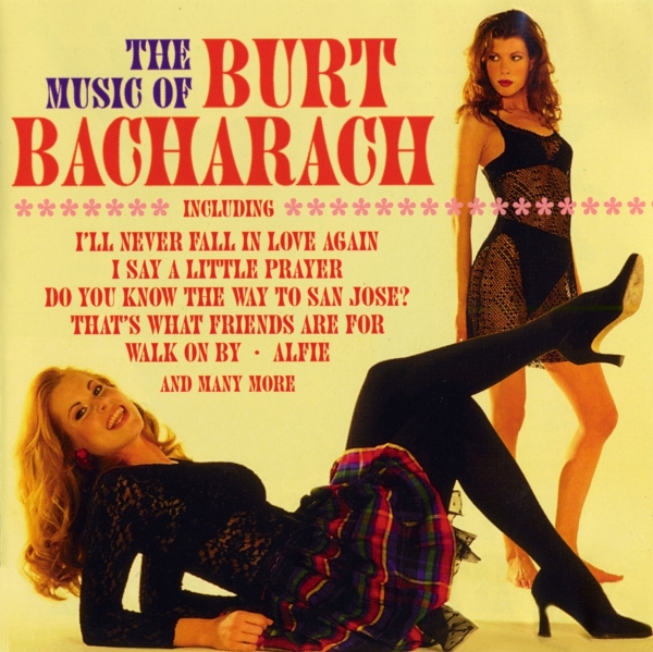 Burt Bacharach The Music of Burt Bacharach cover art