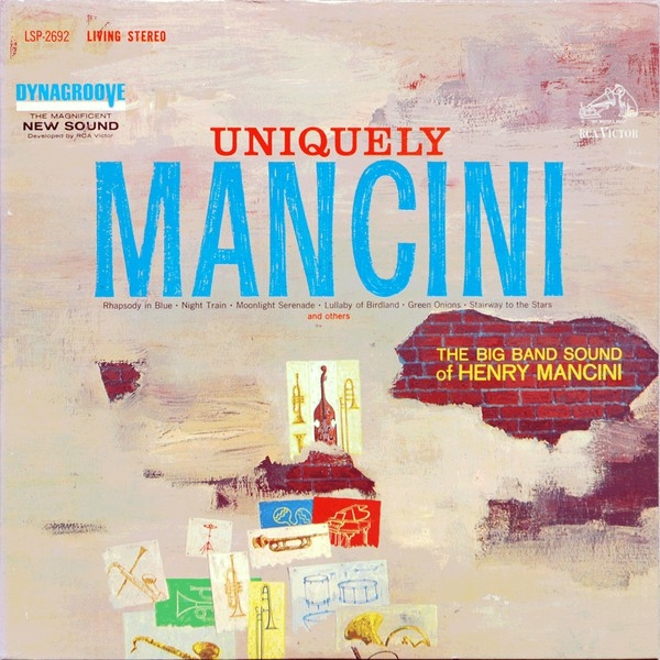 Henry Mancini Uniquely Mancini Cover Art