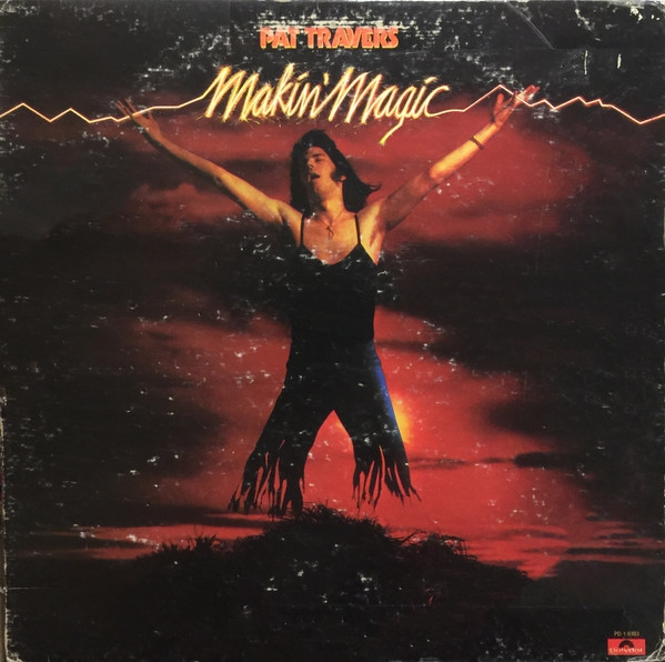 Pat Travers Makin' Magic cover art