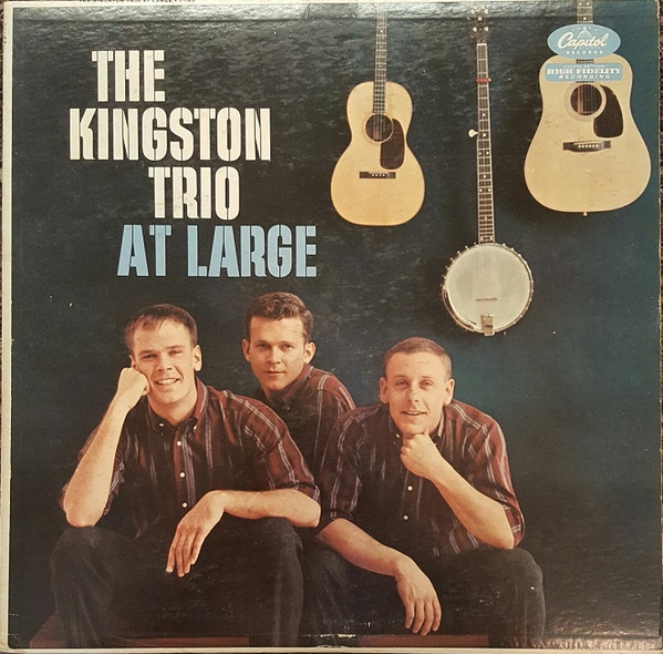 The Kingston Trio The Kingston Trio at Large Cover Art