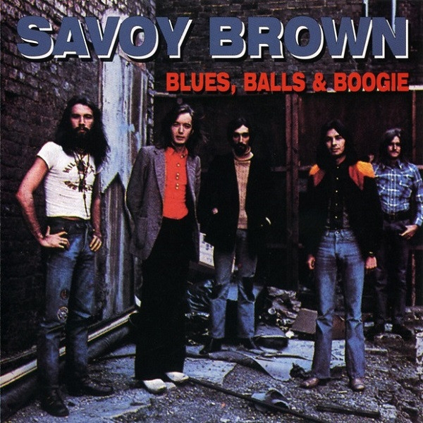 Savoy Brown Blues, Balls & Boogie cover art