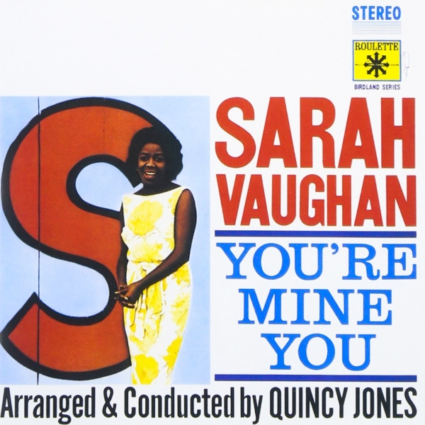 Sarah Vaughan You're Mine You cover art