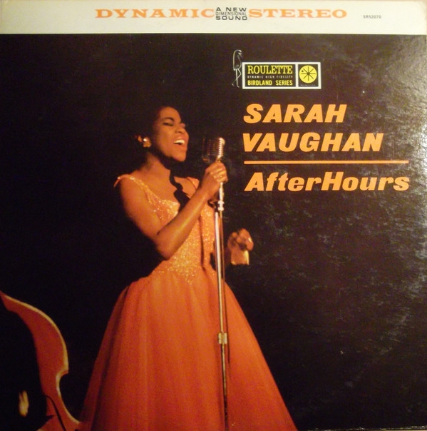 Sarah Vaughan After Hours cover art