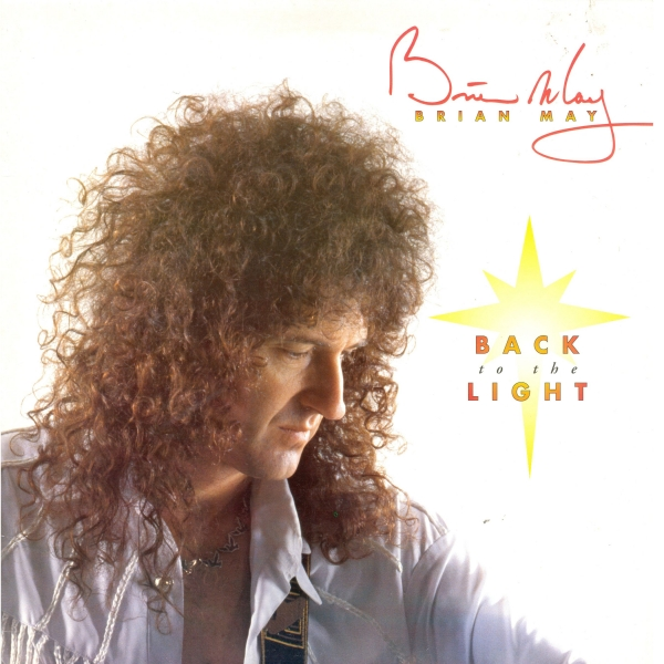 Brian May Back to the Light cover art