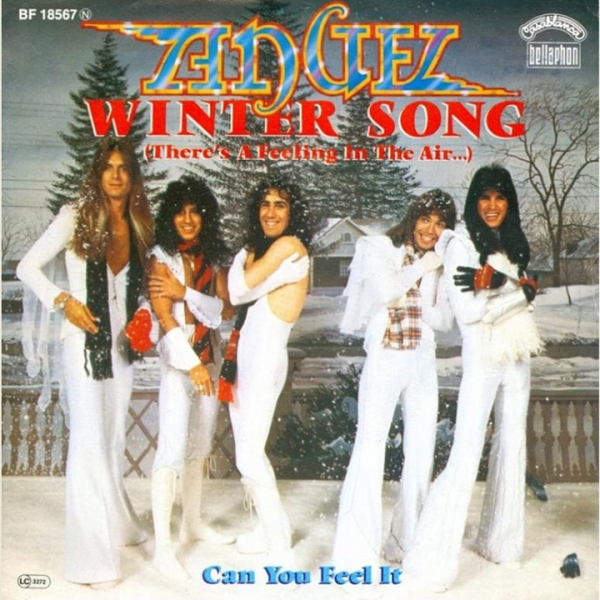 Angel Winter Song / Can You Feel It Cover Art