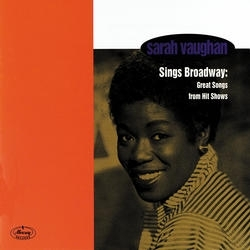 Sarah Vaughan Sings Broadway: Great Songs from Hit Shows cover art