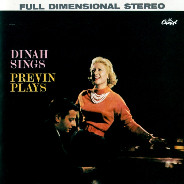 Dinah Shore Dinah Sings, Previn Plays: Songs in a Mid-Night Mood Cover Art