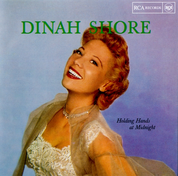 Dinah Shore Holding Hands at Midnight cover art