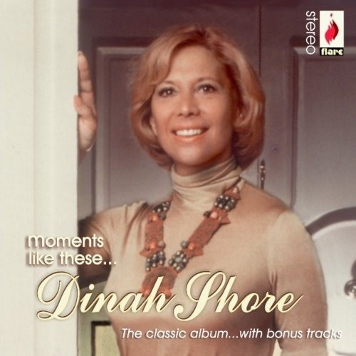 Dinah Shore Moments Like These Cover Art