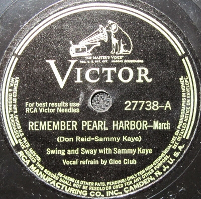 Swing and Sway with Sammy Kaye Remember Pearl Harbor / Dear Mom Cover Art