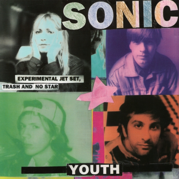 Sonic Youth Experimental Jet Set, Trash and No Star cover art