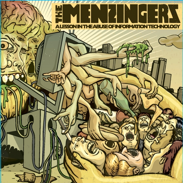 The Menzingers A Lesson in the Abuse of Information Technology Cover Art