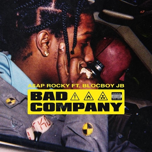 A$AP Rocky feat. BlocBoy JB Bad Company Cover Art