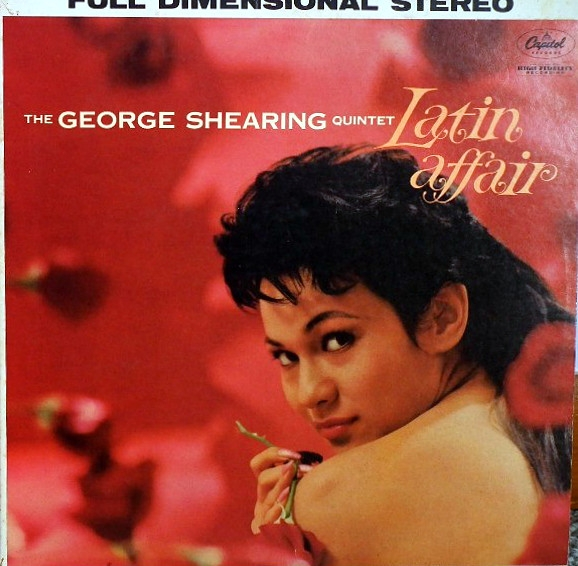 The George Shearing Quintet Latin Affair cover art