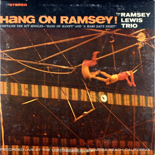 The Ramsey Lewis Trio Hang on Ramsey! Cover Art
