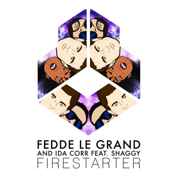 Fedde Le Grand and Ida Corr feat. Shaggy Firestarter Cover Art