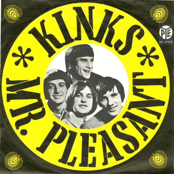 The Kinks Mr. Pleasant Cover Art