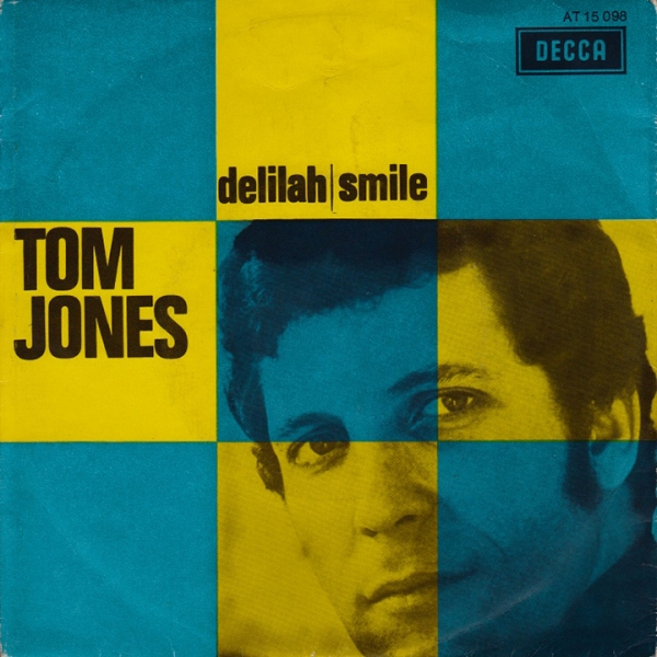 Tom Jones Delilah / Smile Cover Art