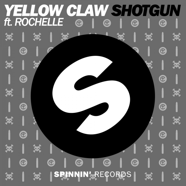 Yellow Claw feat. Rochelle Shotgun Cover Art