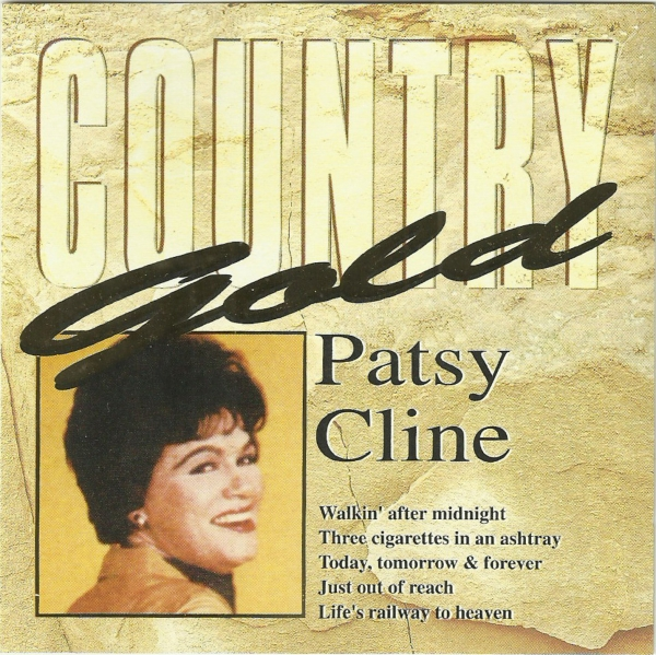 Patsy Cline Country Gold Cover Art