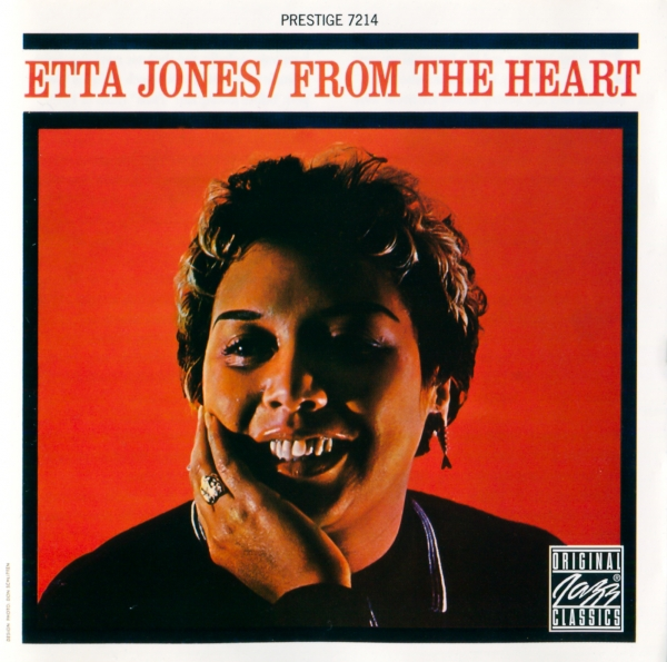 Etta Jones From the Heart cover art