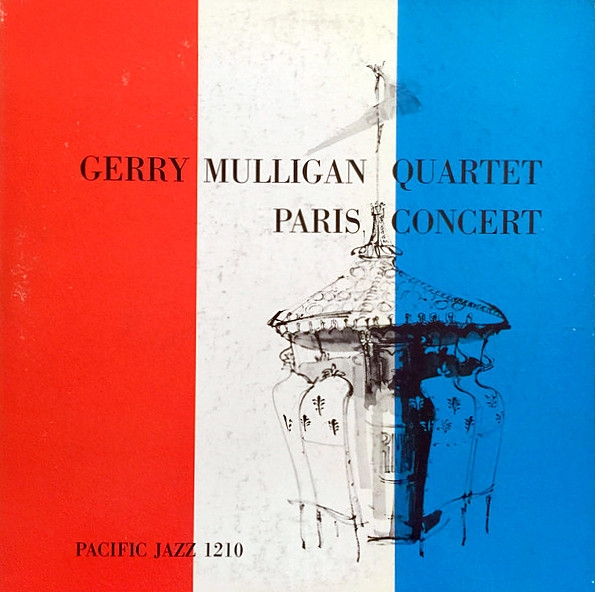 Gerry Mulligan Quartet Paris Concert cover art
