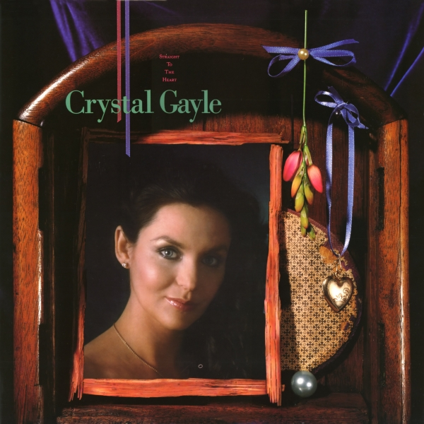 Crystal Gayle Straight to the Heart cover art