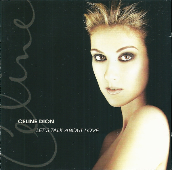 Céline Dion Let's Talk About Love cover art