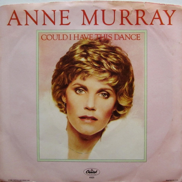 Anne Murray Could I Have This Dance cover art