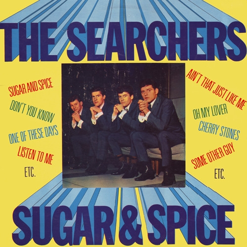 The Searchers Sugar & Spice cover art