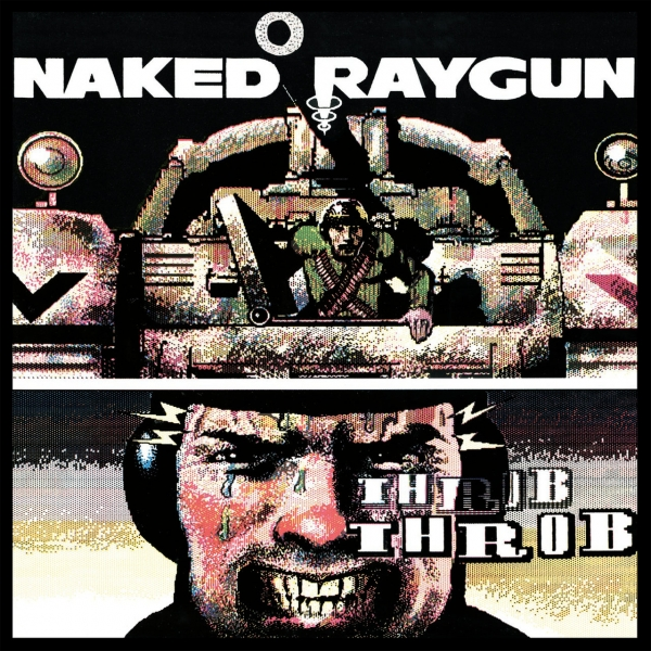 Naked Raygun Throb Throb cover art