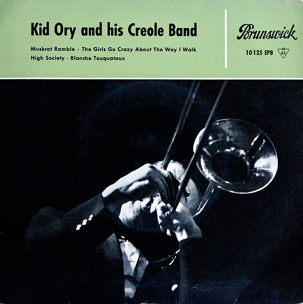 Kid Ory And His Creole Jazz Band Muskrat Ramble Cover Art