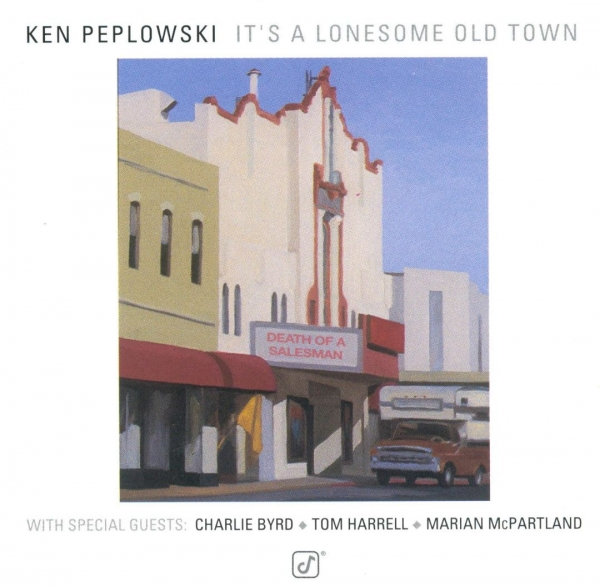 Ken Peplowski It's a Lonesome Old Town cover art