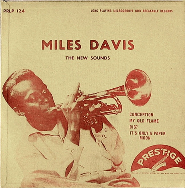 Miles Davis The New Sounds cover art