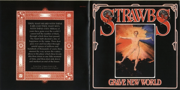 Strawbs Grave New World cover art