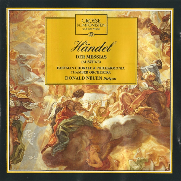George Frideric Handel Der Messias (Auszüge) cover art