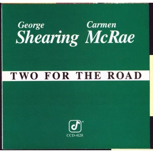 George Shearing / Carmen McRae Two for the Road Cover Art
